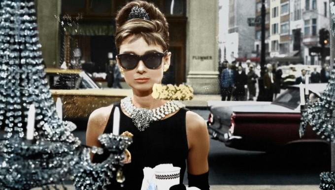 """rivenditore all'ingrosso b2719 434d4 Occhiali di Audrey Hepburn nel film """"Colazione da Tiffany"""""""